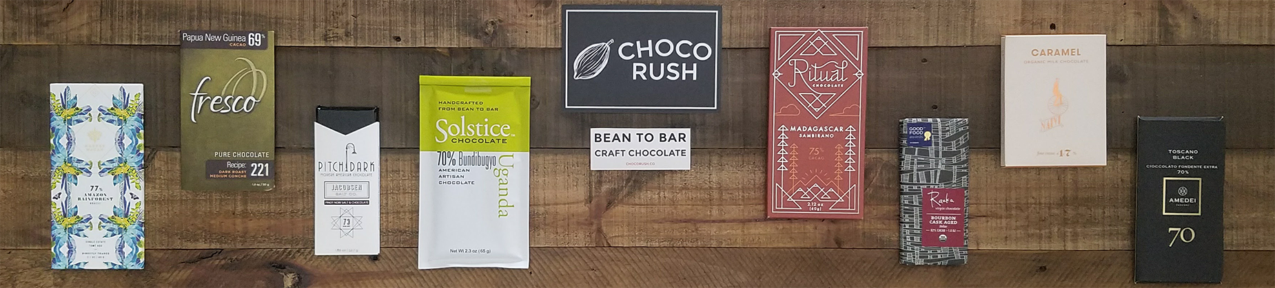 premium craft chocolate store