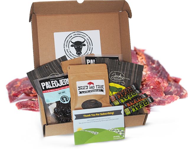 Jerky subscription box