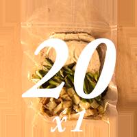 20 Meals Per Month