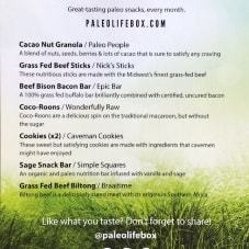 May Paleo Product Insert