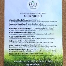 June Paleo Product Insert