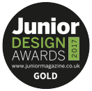 Junior Magazine Design Awards Logo Gold