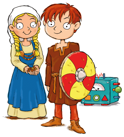 Vikings for Kids Max and Katie