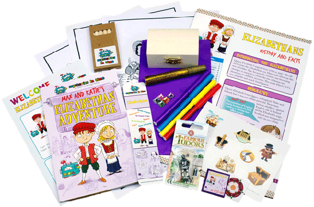 Elizabethan period for Kids Subscription Box