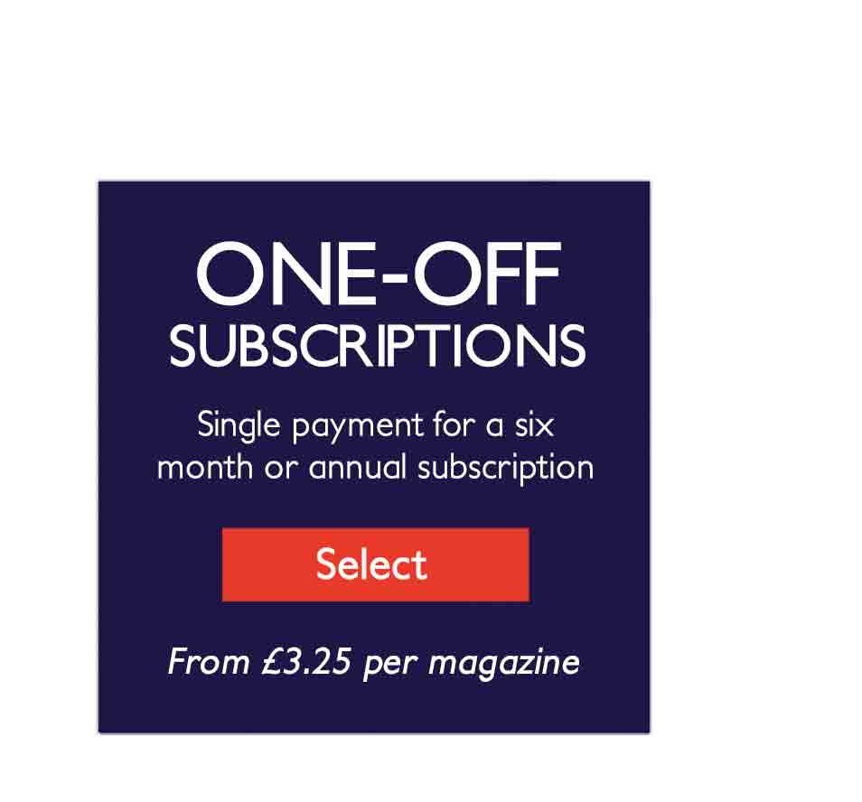 One-off subscriptions