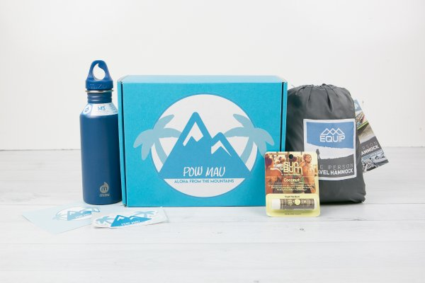 PowMau Outdoors Subscription with all items displayed.