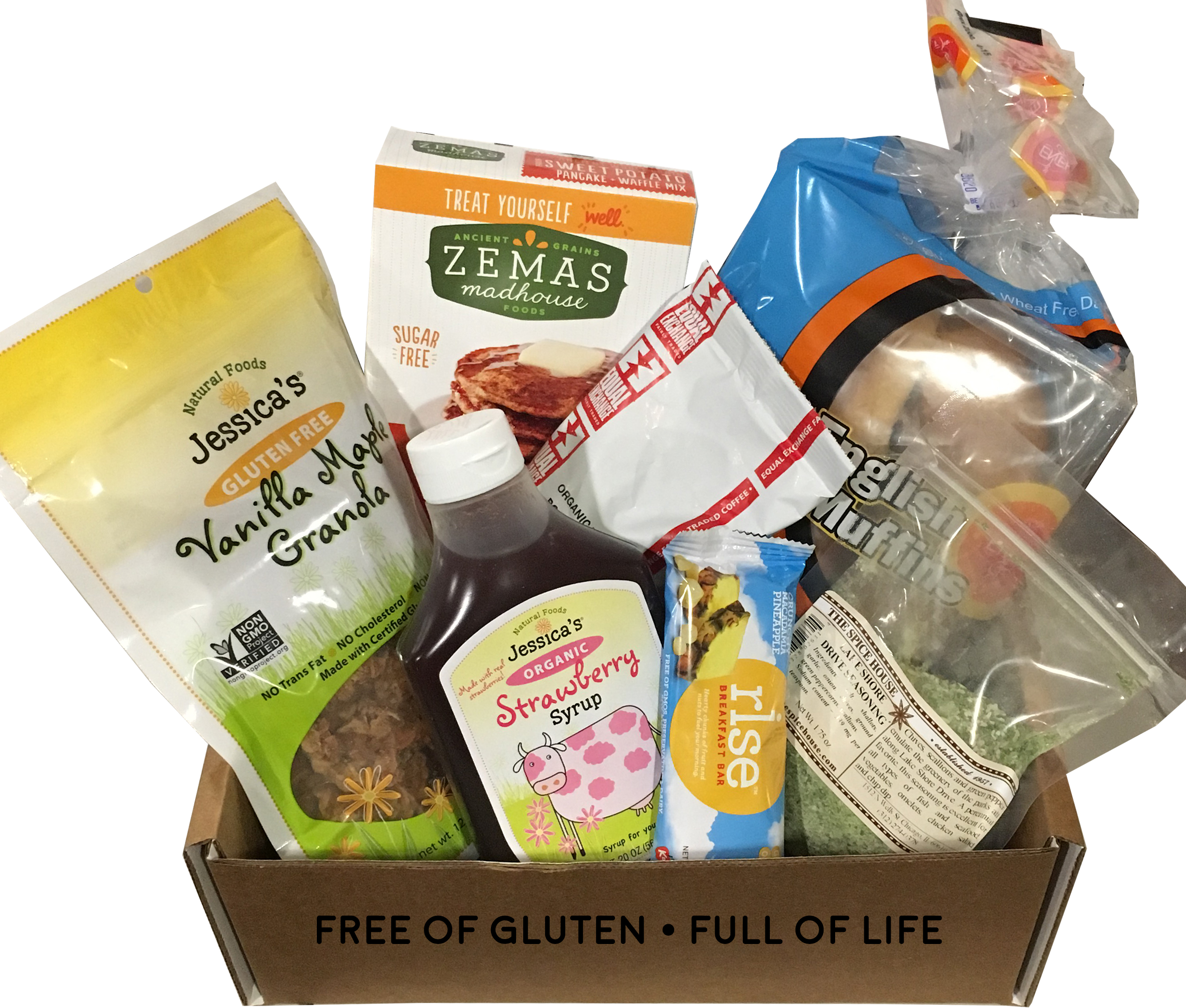 Gluten free dairy free food subscription monthly food box negle Images