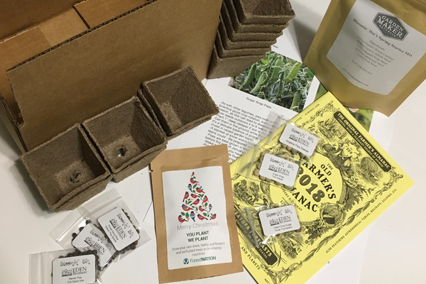 Gardening subscription with seeds and more.