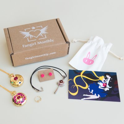 Fangirl Monthly Anime Amp Manga Jewelry Subscription