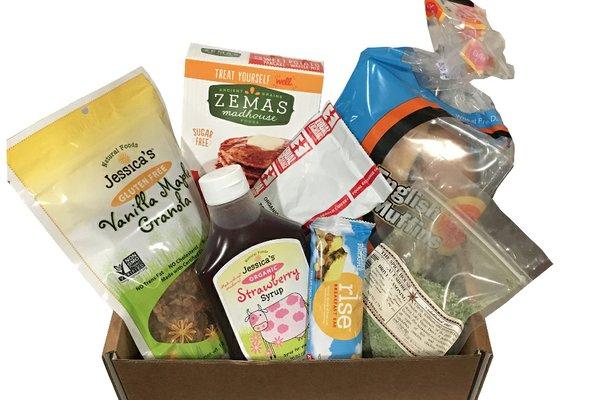 American gluten free gluten free snack box cratejoy negle Image collections