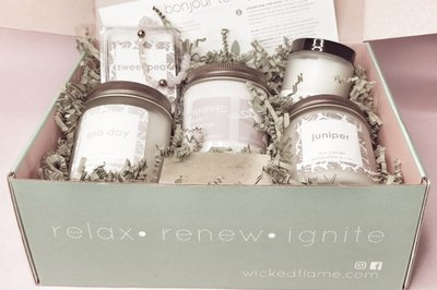 Candle + Spa Box by Wicked Flame Photo 3