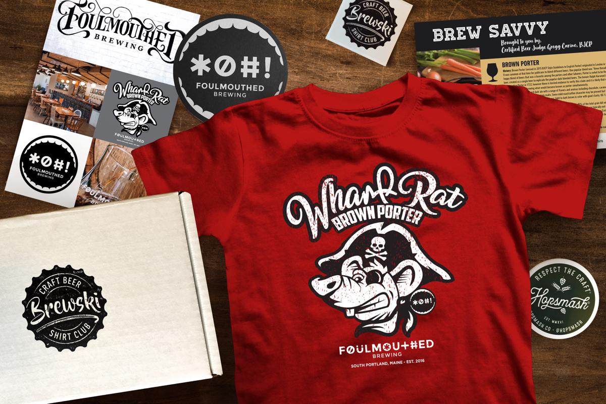 Brewski Craft Beer Shirt Club Subscription Box Cratejoy