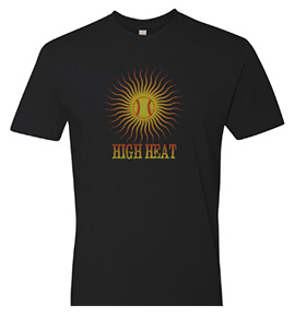 Baseball TShirt - High Heat