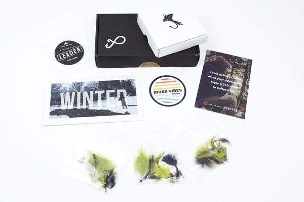 Postfly Monthly Fishing Subscription Box Cratejoy