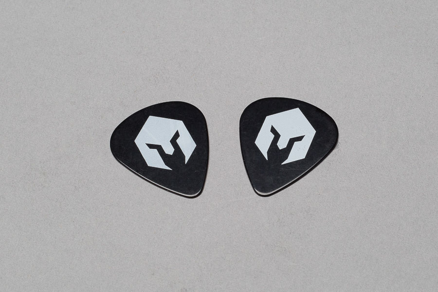 BattlBox Guitar Picks (flammable celluloid) x2 - FREE