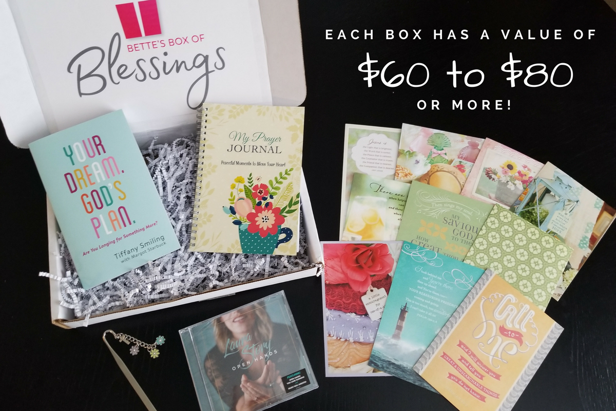 Bette's Box of Blessings - Christian Subscription Box