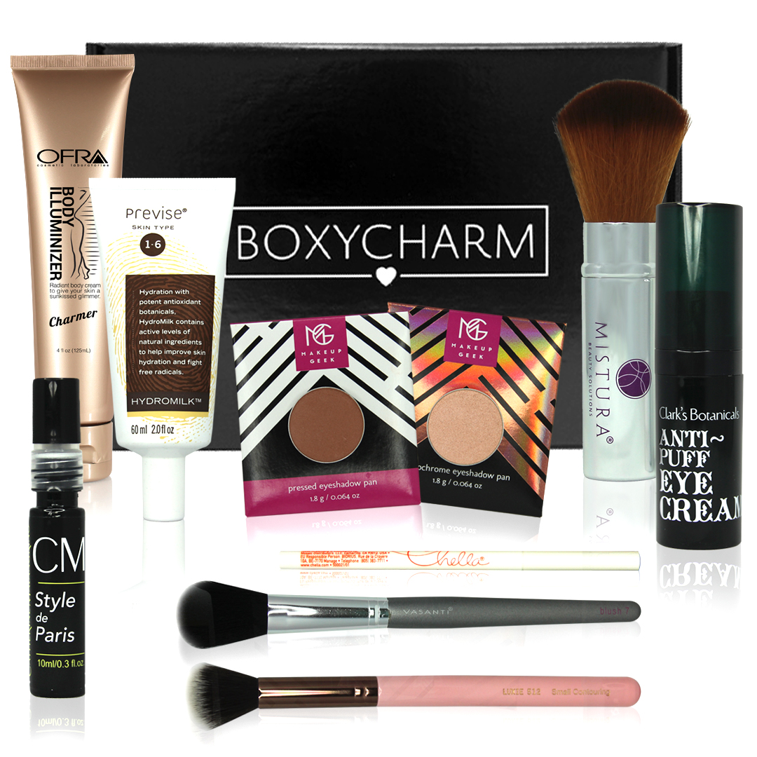 The Best Beauty Subscription Boxes; Boxycharm