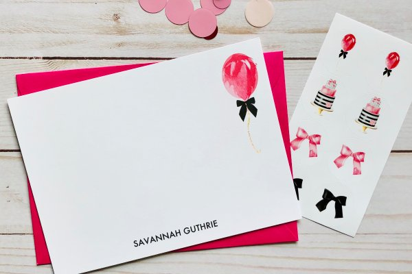 VOTED PERFECT GIFT: A monthly delight of CUSTOM stationery and accessories delivered to your door!