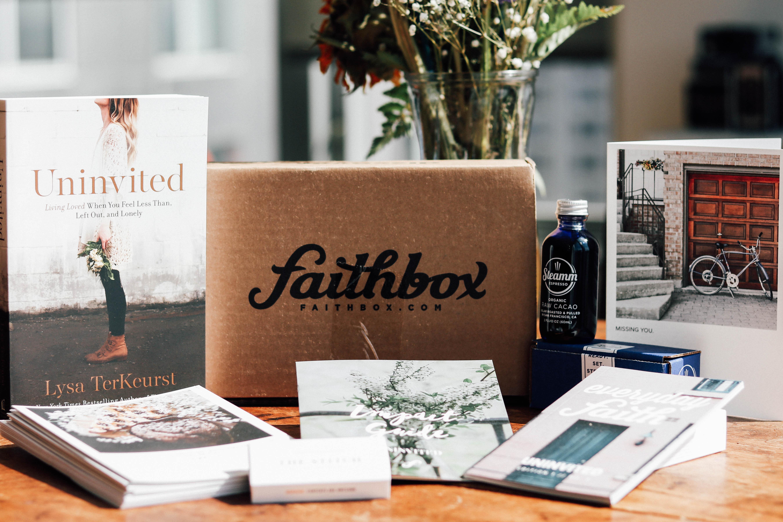 Grab the FaithBox Subscription...