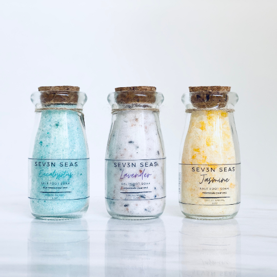Treat yourself to the best soaking salts! All Organic and Natural! Photo 1