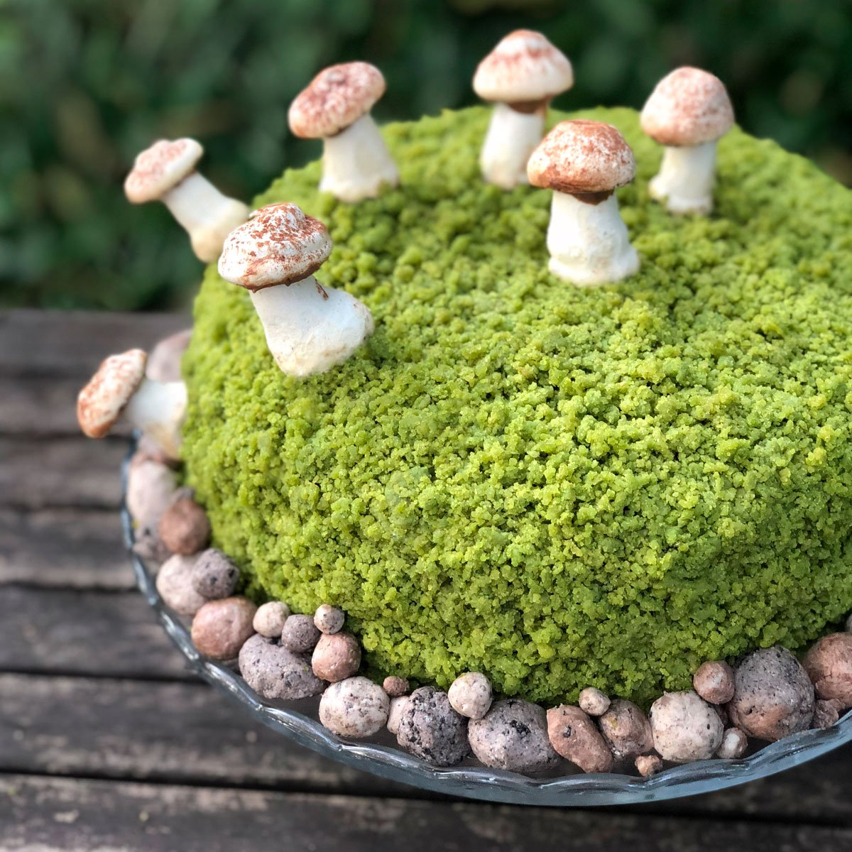 creamy moss bowl