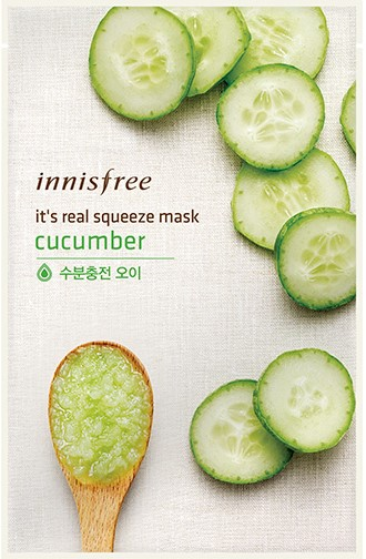 It's real squeeze mask - Cucumber