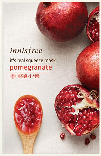 It's real squeeze mask - Pomegranate