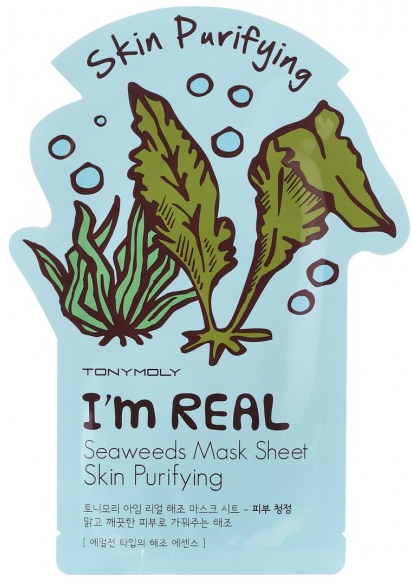 I AM REAL Seaweeds Mask Sheet-Skin Purifying