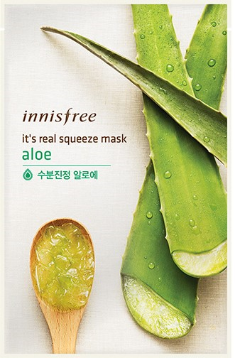 It's real squeeze mask - Aloe