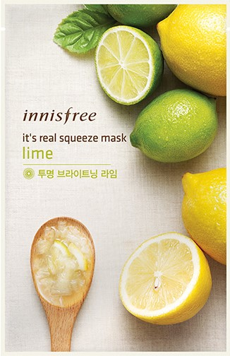 It's real squeeze mask - Lime