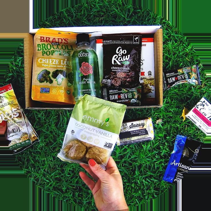 RawBox Healthy & Natural Snack and Food Subscription Box