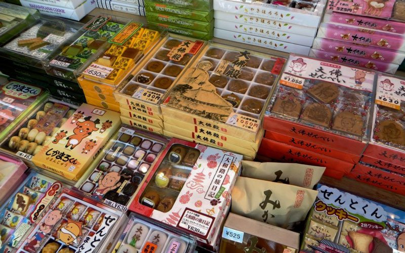 Omiyage come in many different flavors, shapes, and forms.