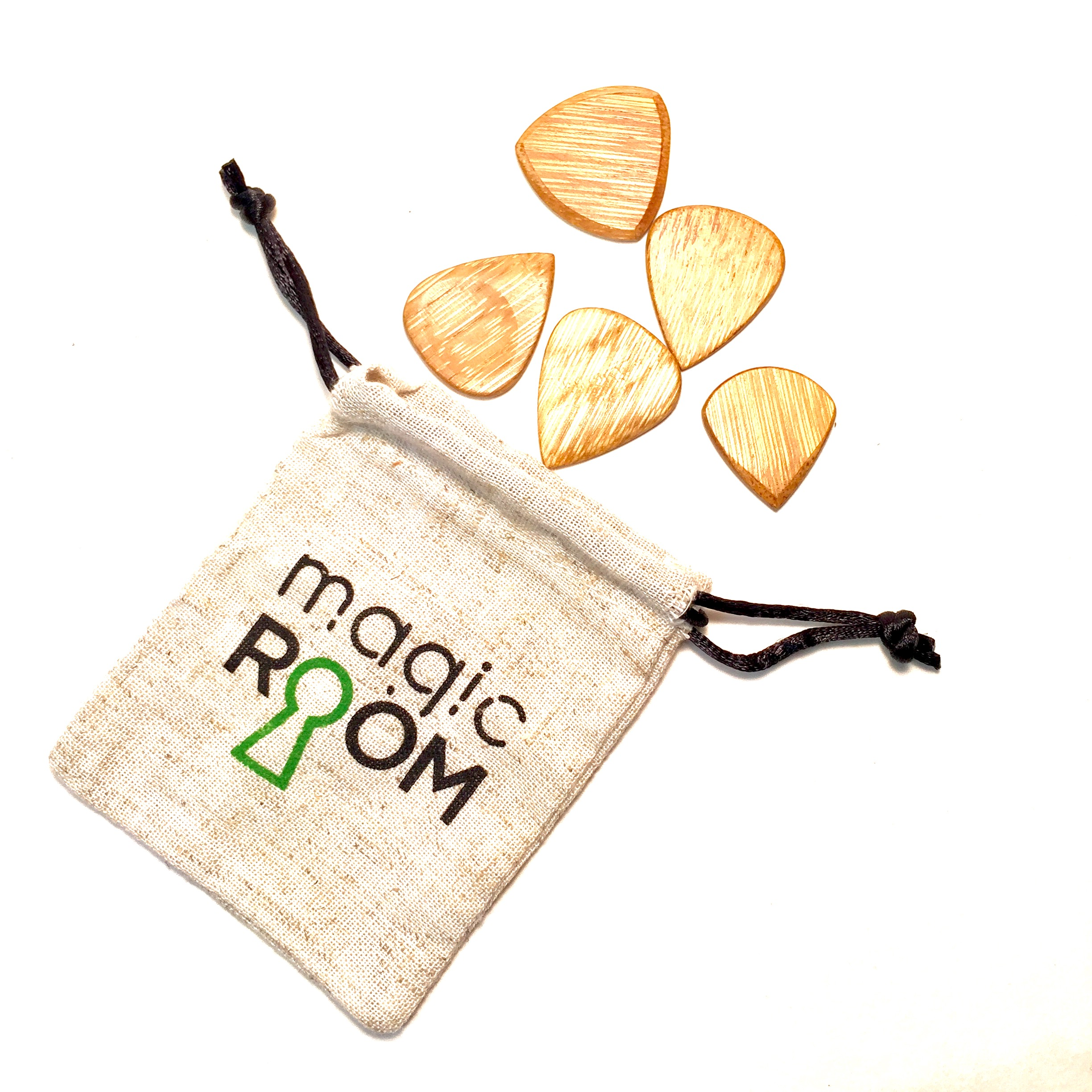 Bamboo Guitar Picks | Magic Room Brand