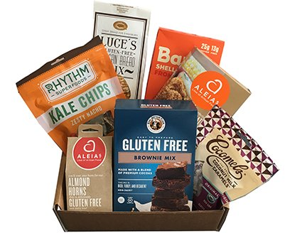 100 gluten and dairy free monthly delivery celiac safe the foodie box 3695month or less negle Image collections