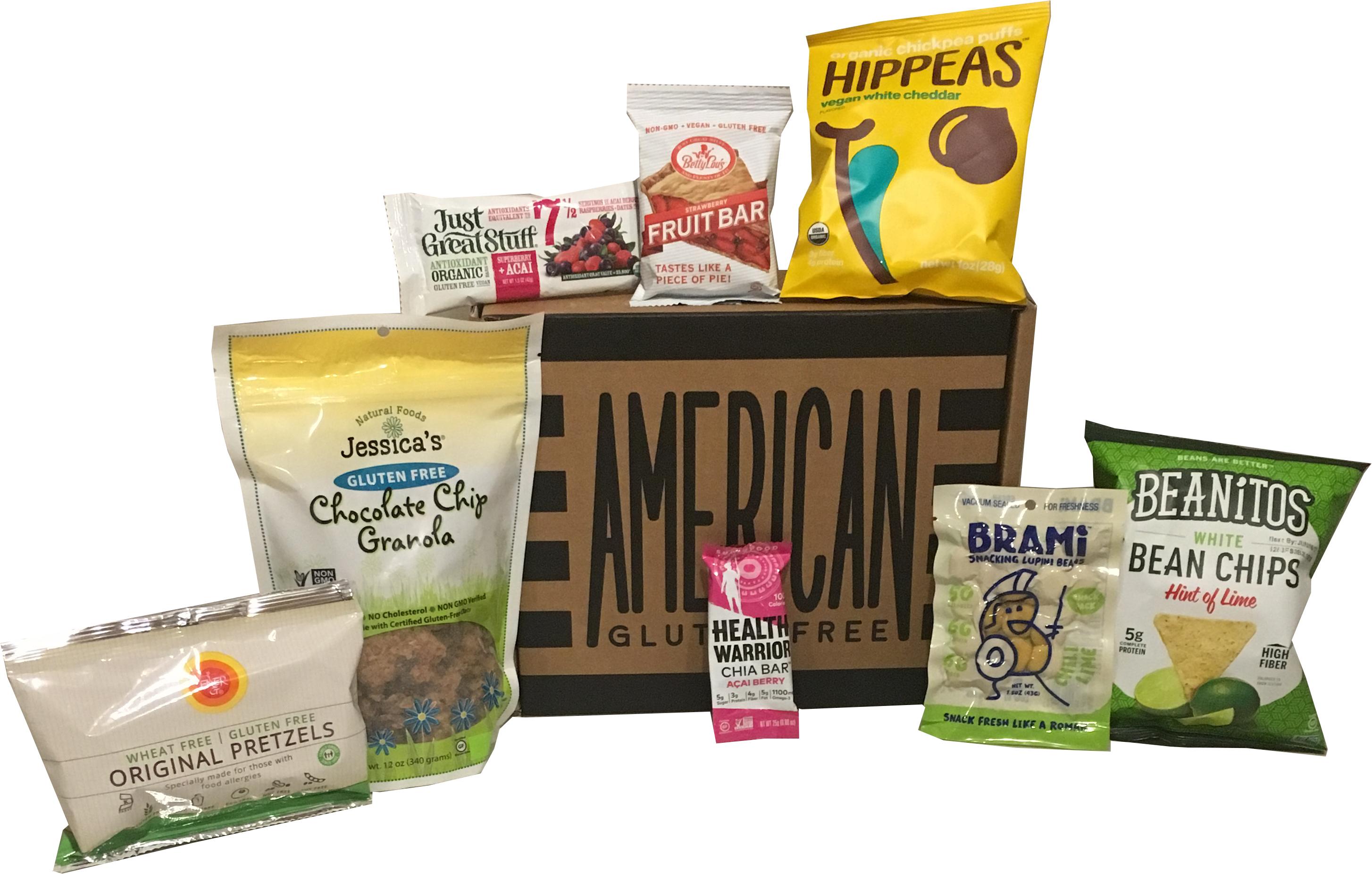Gluten Free Food Box | Gluten Free Snack Subscription