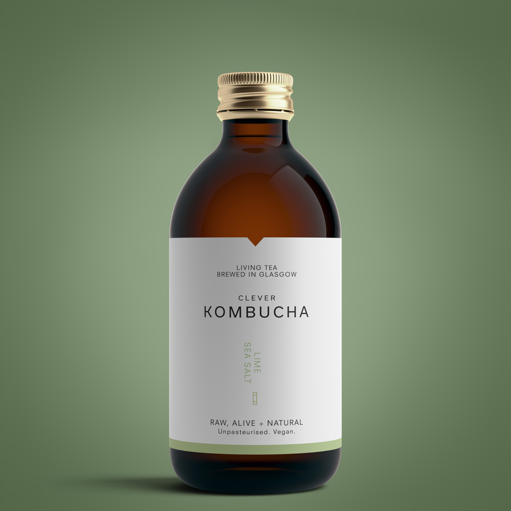 Clever Kombucha - Lime Sea Salt