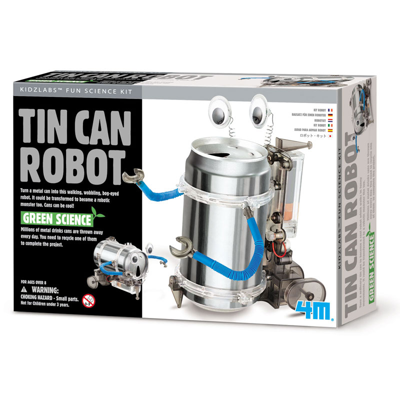 Green Science Build-it-Yourself Tin Can Robot