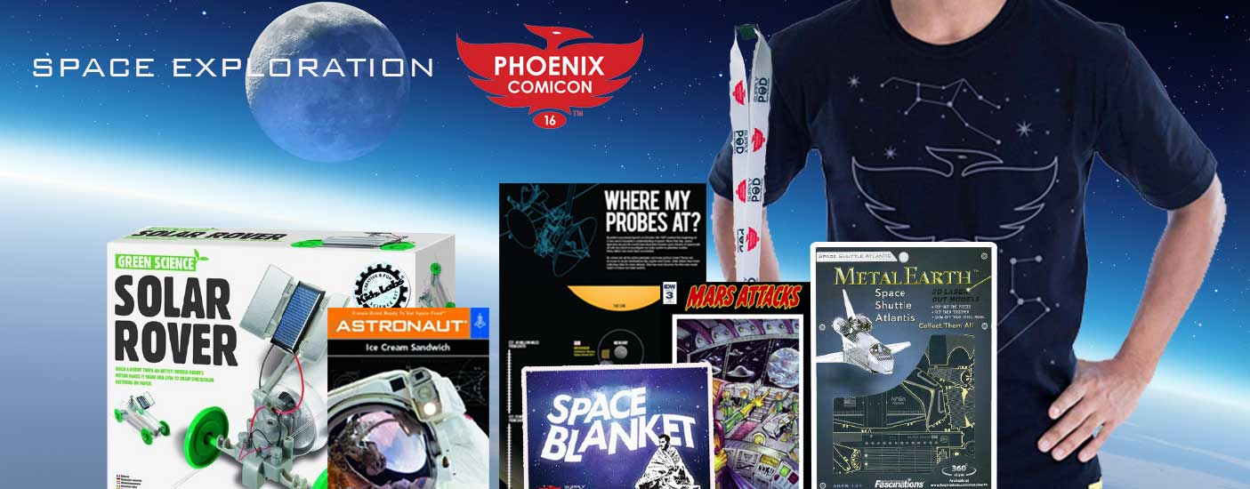 Space Exploration, with Phoenix Comicon