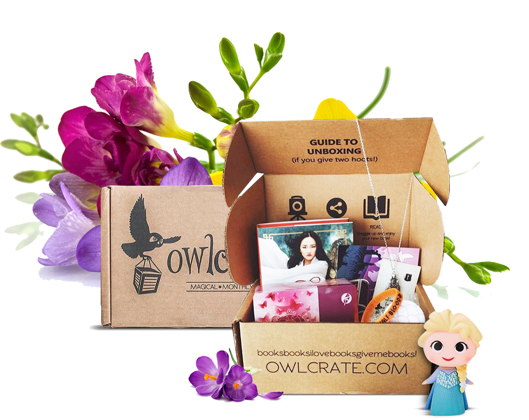 Owlcrate Monthly Book Subscription Box