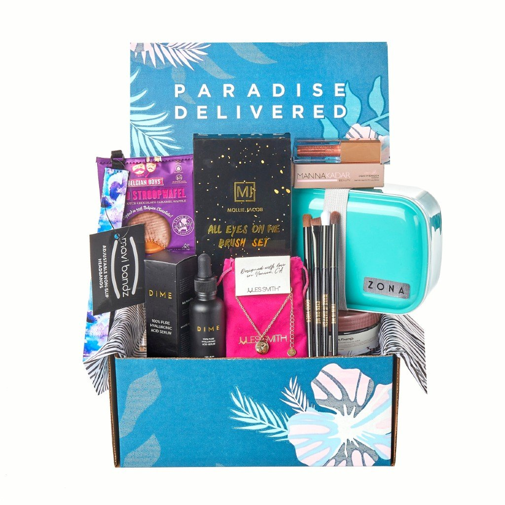 January 2021 Paradise Delivered Box