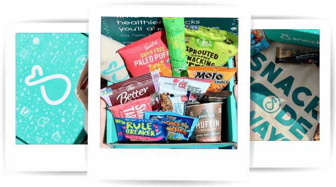 SnackSack snacks and food subscription box