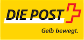 We deliver our packages with the Swiss Postal Service