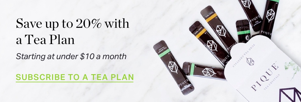 Save up to 20% with a Tea Plan