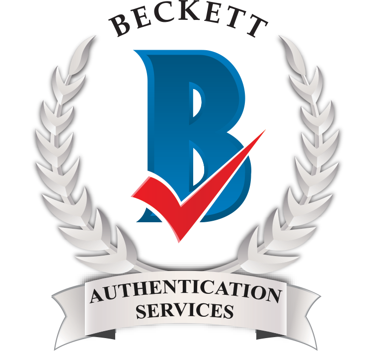 Proud Partner of Beckett Authentication