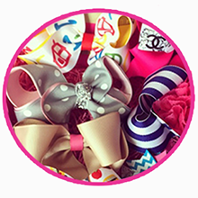 5 beautiful hairbows