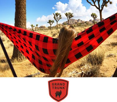 Heritage Red Plaid Hammock & Straps