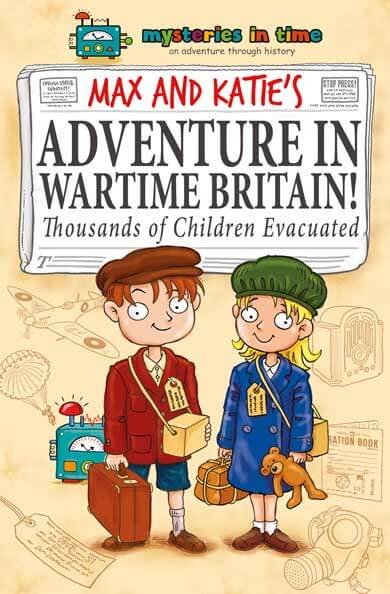 WW2 Evacuees History Fiction Book for Kids