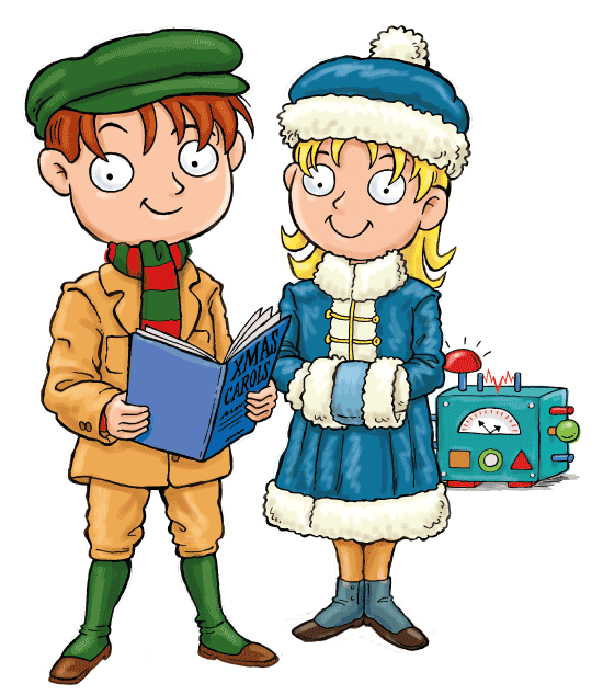 Christmas Gifts for Kids - Max and Katie
