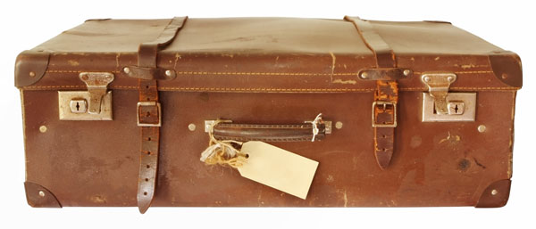 An Evacuee's Suitcase
