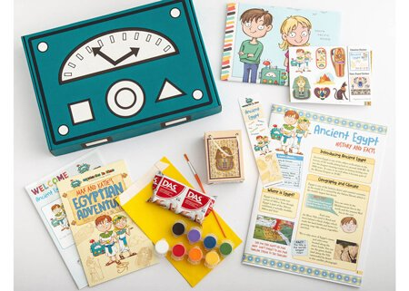 Ancient Egypt for kids educational subscription box